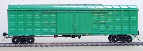 Крытый вагон с уширенными дверными проёмами, модель 11-217