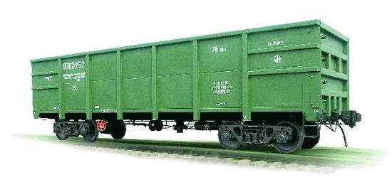 Полувагон цельнометаллический, модель 12-127